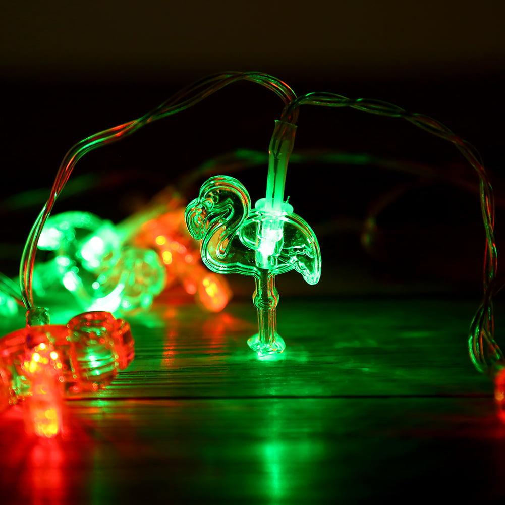 Fairy Lights Led String Lights Crystal Flamingo Fairy