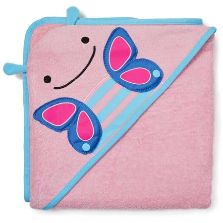 Skip Hop Zoo Hooded Towel, Butterfly