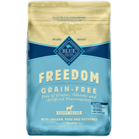 Blue Buffalo Freedom Grain Free Natural Puppy Dry Dog Food, Chicken, 24-lb
