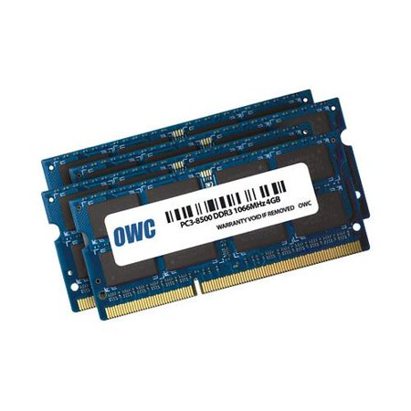 OWC / Other World Computing 16GB (4x 4GB) 1066MHz 204-Pin DDR3 SDRAM (PC3-8500) Memory Upgrade Kit for all Apple iMac 21.5