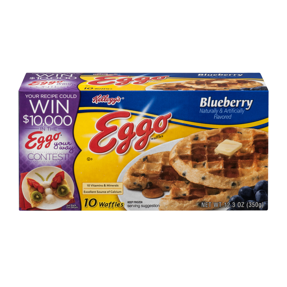 Kellogg's Eggo Waffles Blueberry - 10 CT