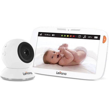 levana amara 7 touchscreen video baby monitor. Black Bedroom Furniture Sets. Home Design Ideas
