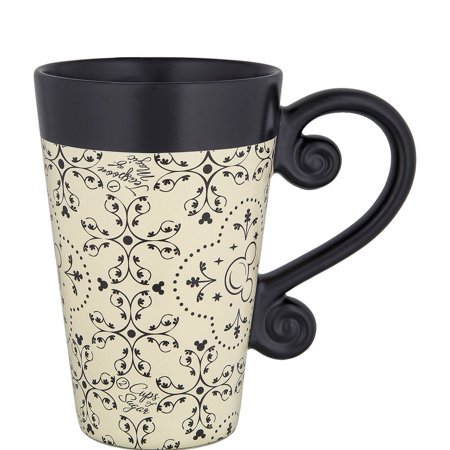 - Disney Parks Kitchen Mickey Icon Ceramic Latte Coffee Mug New