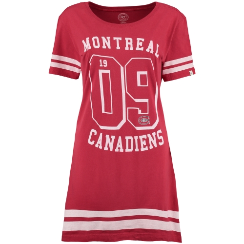 '47 Montreal Canadiens Women's Red Varsity Dress