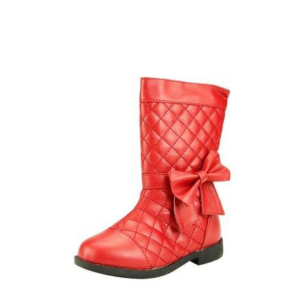 Quilted Leather Tall Boot (The Doll Maker TALL QUILTED BOOT-TD173017E-8)