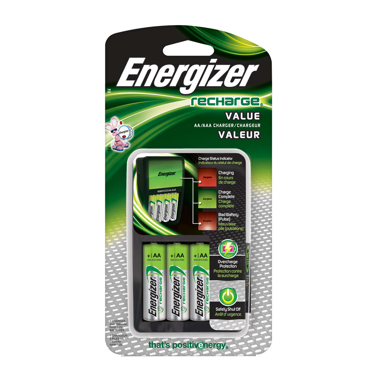 Energizer Recharge Value Charger