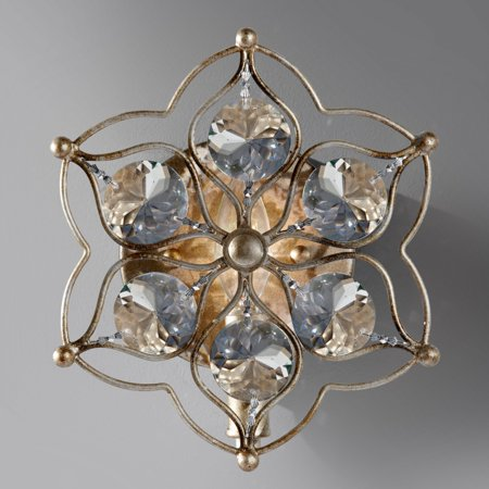 Louie Sconce (Feiss Leila WB1585BUS Sconce - 8.25W in. - Burnished)