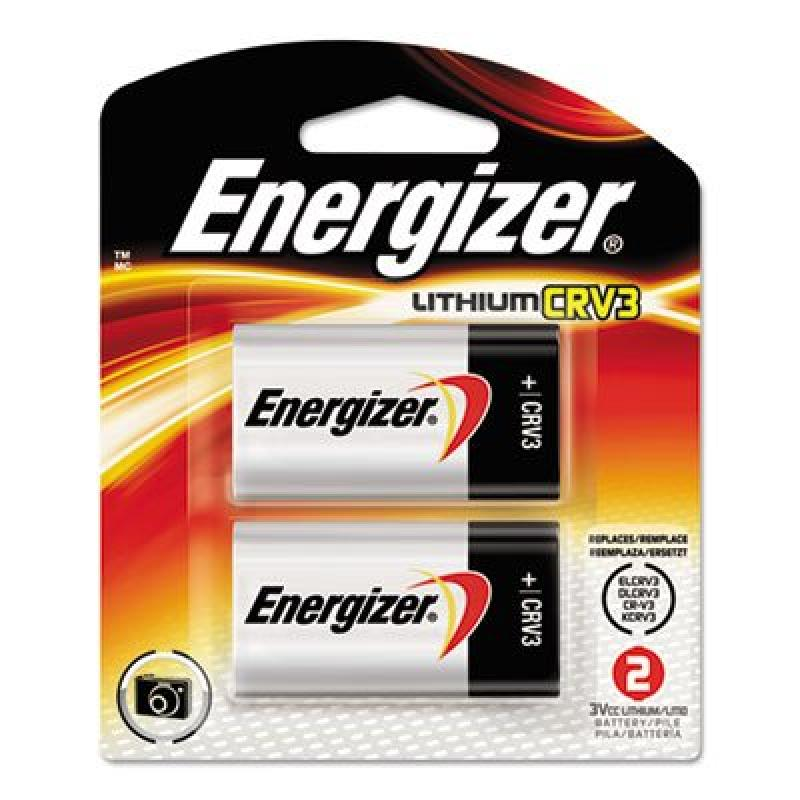 Eveready Lithium Photo Battery, CRV3, 3V, 2/Pack, Sold as...