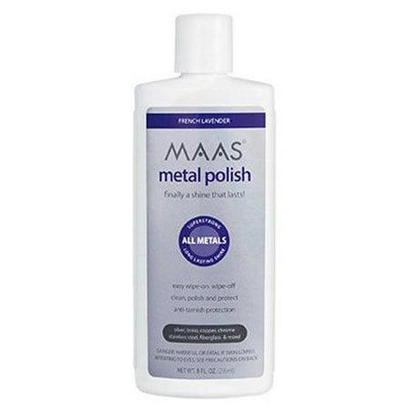 - Maas International Liquid Metal Polish, 8-Ounce
