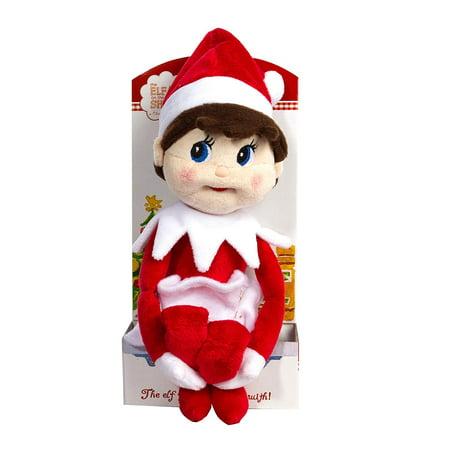 Girl Plush Elf on the Shelf