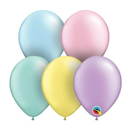"""Burton & Burton 5"""" Pastel Pearl Asst Pk Balloon"""