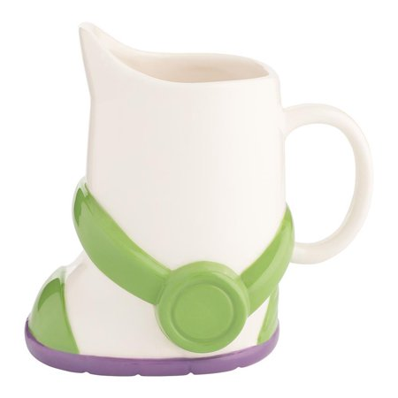 Vandor Disney Toy Story Buzz Lightyear Boot 24 oz. Sculpted Ceramic Mug New (Sculpted Ceramic)