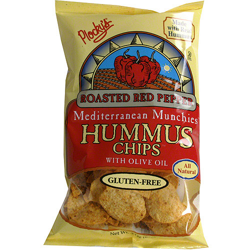 Plocky's Roasted Red Pepper Chips, 3 oz (Pack of 12)