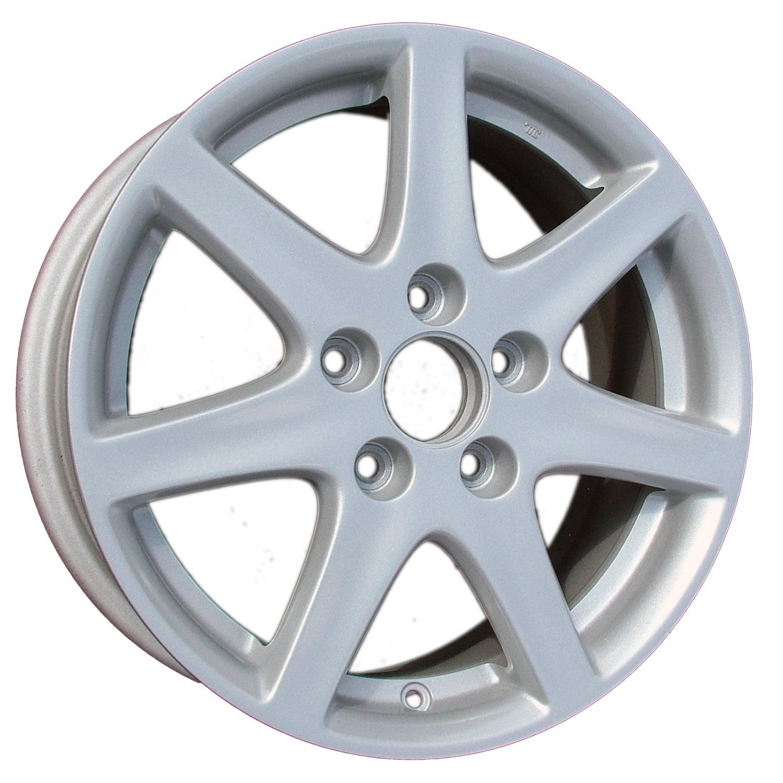 Aftermarket 2003 2005 Honda Accord Sedan 16x6 5 Alloy Wheel Rim Bright Sparkle Silver Full Face Painted 63858 Walmart Com Walmart Com