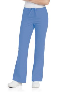 Landau Women's Natural Flare Leg Scrub Pant, Style 8335