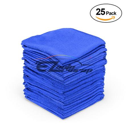 Microfiber Cleaning Cloth Towel Rag Car Polishing No Scratch Auto Detailing