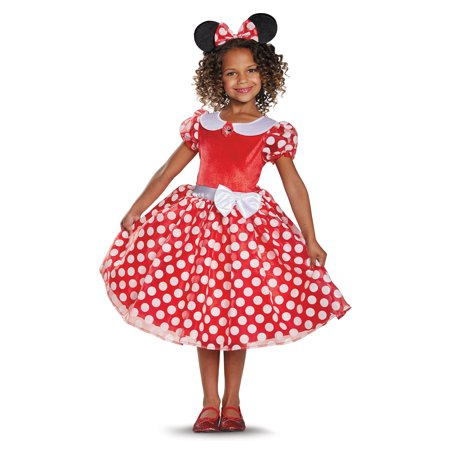 Minnie Mouse Girls' Classic Costume for $<!---->
