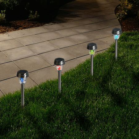 Pure garden outdoor solar yard lights walmart pure garden outdoor solar yard lights aloadofball Images