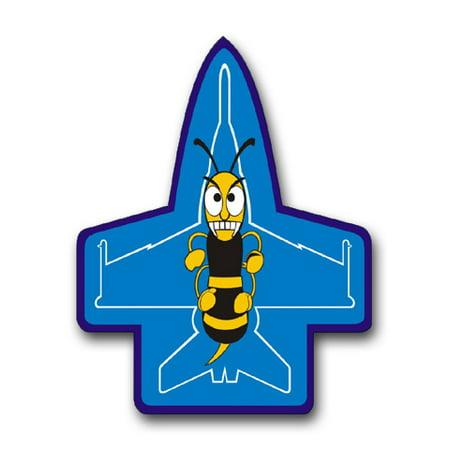 Hornets Vinyl Skin (3.8 Inch Navy F-18 Hornet Patch Vinyl Transfer)