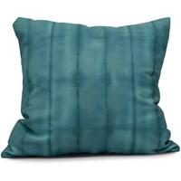 "Simply Daisy 16"" x 16"" Pool Stripe Print Outdoor Pillow"