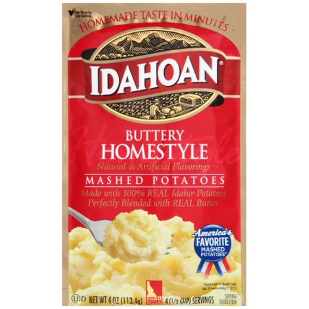 Idahoan, Buttery Homestyle Mashed Potatoes