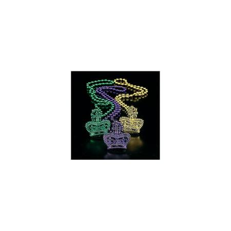 Mardi Gras Crowns (Mardi Gras Crown Beads (2Dz) - Jewelry - 24)