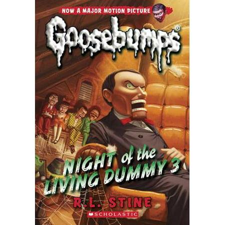 Night of the Living Dummy 3 (Classic Goosebumps #26) - Goosebumps Slappy Ventriloquist Dummy