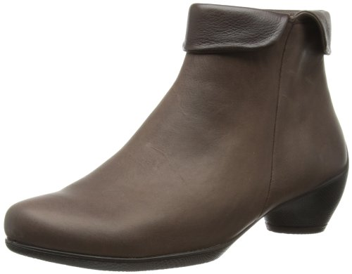 ECCO Women's Sculptured Folded Zip Boot,Coffee,41 EU 10-10.5 M US by