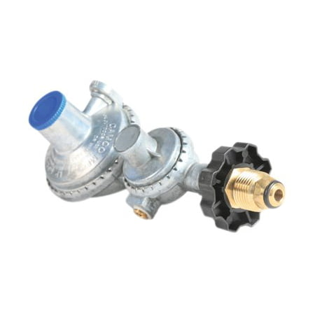 Two Stage Propane Regulator (Camco Horizontal 2-Stage Propane Regulator with)