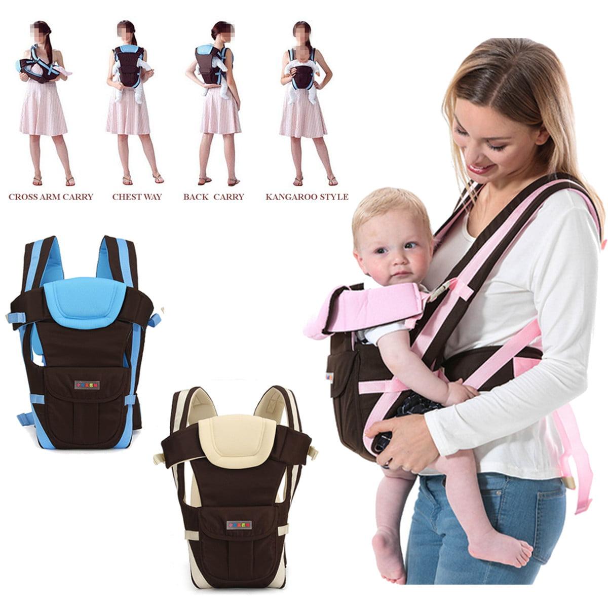 Baby Carrier Sling Infant Breathable Adjustable Wrap Newborn Toddler Backpack