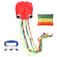 13ft Octopus Kite Large Octopus Long Tail Beach Kites-Perfect Toy for Kids and Adults Outdoor Game