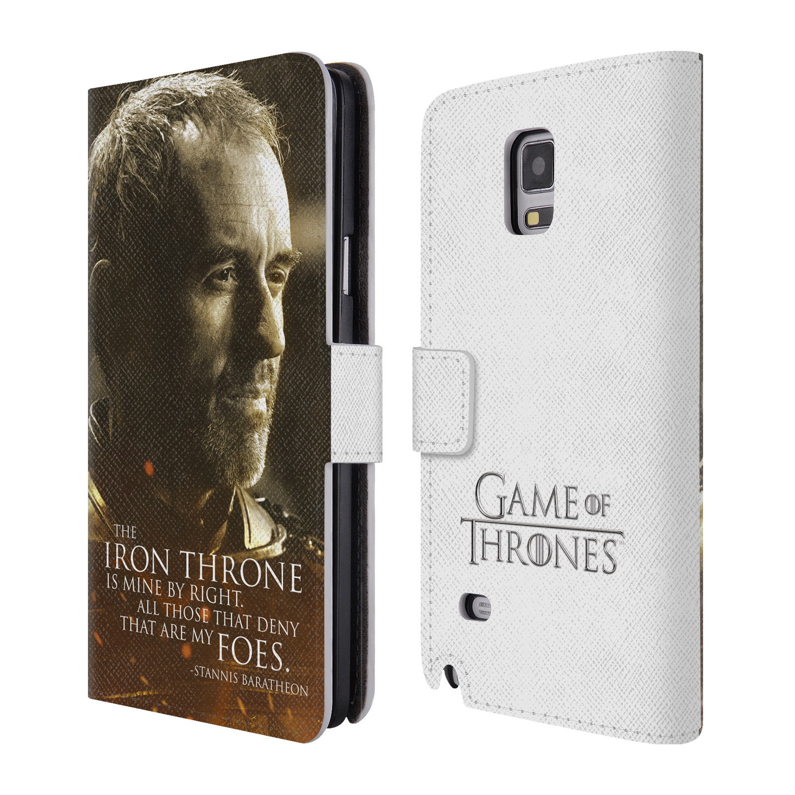 OFFICIAL HBO GAME OF THRONES CHARACTER PORTRAITS LEATHER BOOK WALLET CASE COVER FOR SAMSUNG PHONES 1