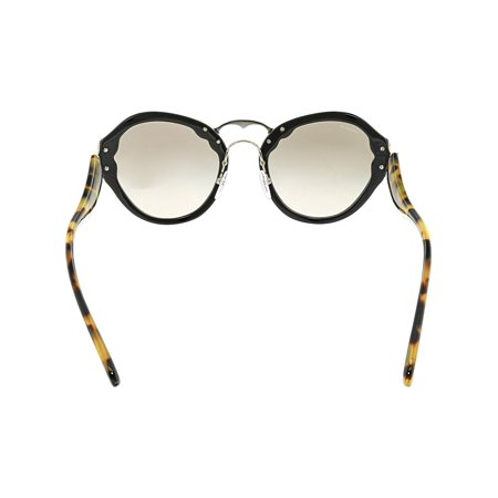 627f3ef4e8c55 Prada Women s Gradient Wanderer PR09TS-1AB3D0-54 Black Butterfly Sunglasses  - image 1 ...