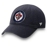 Winnipeg Jets Fanatics Branded Infant Core Adjustable Hat - Navy - OSFA