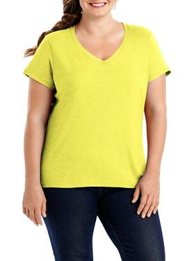d1ac5a96249 Product Image Women s Plus-Size X-temp Short Sleeve V-neck