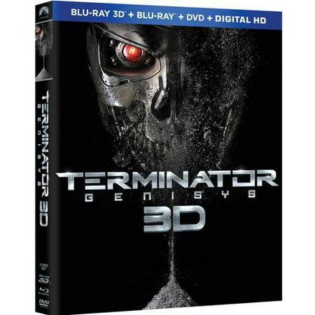 Terminator Genisys 3D Dvd