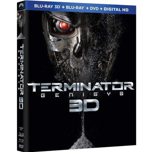 Terminator Genisys (3D Blu-ray   Blu-ray   DVD   Digital HD) (With INSTAWATCH)