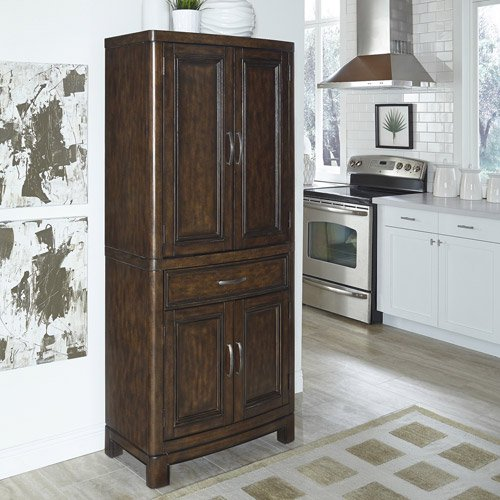 Kitchen Pantry At Walmart: Home Styles Crescent Hill Pantry