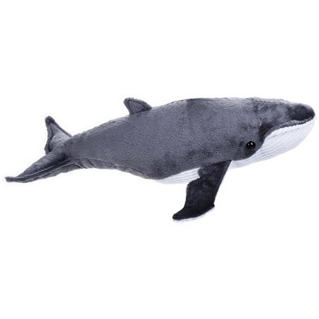 Lelly National Geographic Plush, (Scrimshaw Whale)