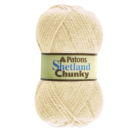 Paton Shetland Chunky Yarn, Aran, Perfect for both adults and children By Patons Ship from US