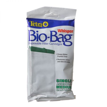 Tetra Bio Bag Disposable Filter Cartridges Medium For Whisper 10 10i E
