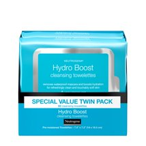Facial Cleansing Wipes: Neutrogena HydroBoost