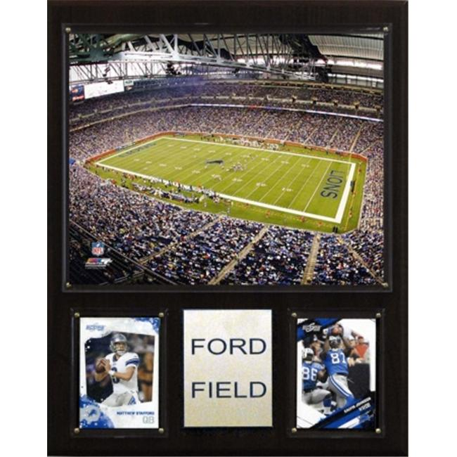 C & I Collectables 1215FORDF NFL Ford Field Stadium Plaque