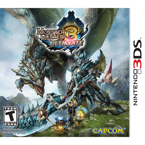 Monster Hunter 3 Ultimate (Nintendo 3DS)