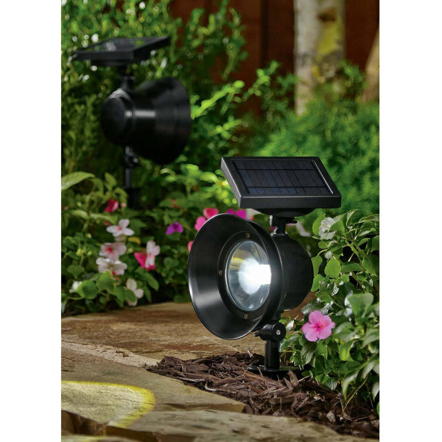 better homes and gardens lighting. Better Homes And Gardens Solar-Powered Adjustable Metal Spotlight - Walmart.com Lighting G