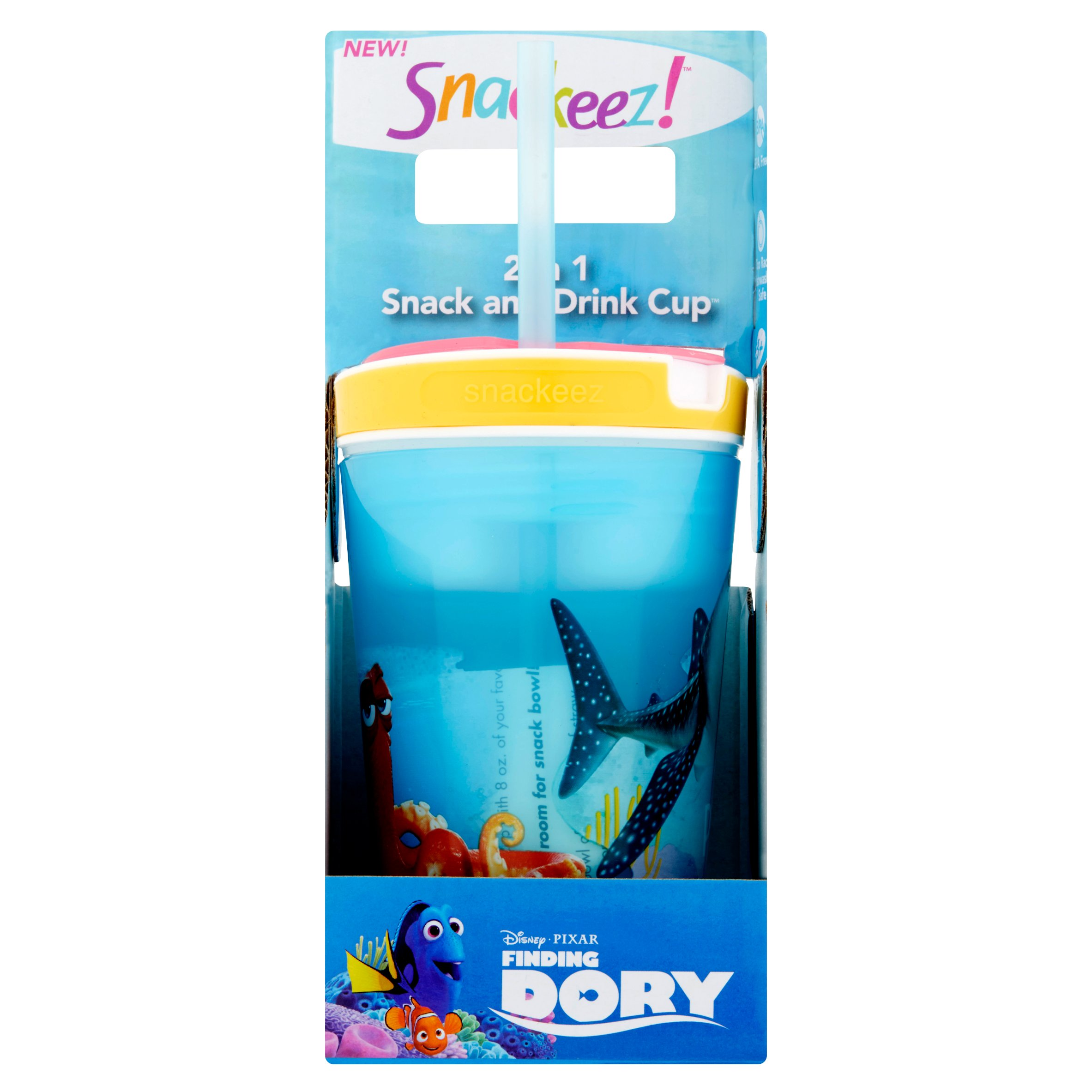 Snackeez! 2 in 1 Snack and Drink Cup Age 3+