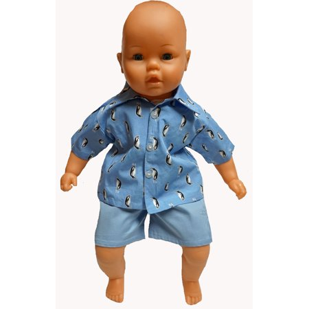 Doll Clothes Superstore Shorts And Shirt For Big Baby Boy Or Girl Dolls In 21 To 23 Inch Size