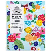 """January 2021-December 2022 Monthly Planner, 8.5""""x11"""", See It Bigger, Floral"""
