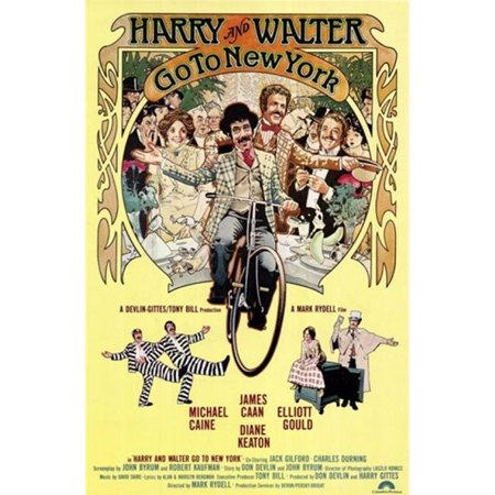 Posterazzi MOV243278 Harry & Walter Go to New York Movie Poster - 11 x 17 in. - image 1 of 1