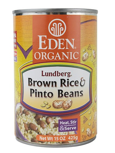 Eden Foods Organic Brown Rice Pinto Beans 15 oz by Eden Foods